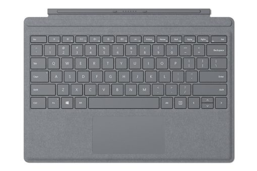 MICROSOFT SURFACE PRO SIGNATURE KEYBOARD TYPE COVER - LIGHT CHARCOAL