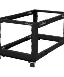 8U 19in Open Frame Server Rack Adj Depth