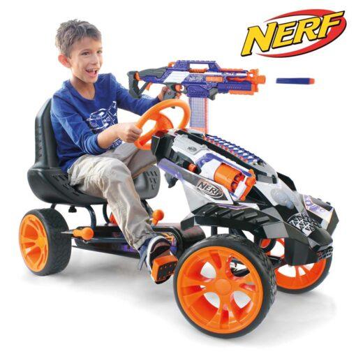 Nerf Battle Racer Pedal Go Kart