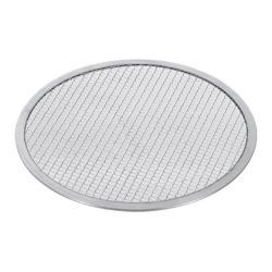 SOGA 12-inch Round Seamless Aluminium Nonstick Commercial Grade Pizza Screen Baking Pan