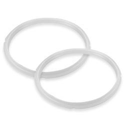 Silicone 2X 5L Pressure Cooker Rubber Seal Ring Replacement Spare Parts
