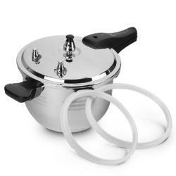 5L Commercial Grade Stainless Steel Pressure Cooker With Seal