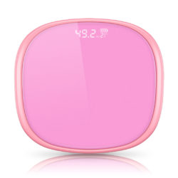 SOGA 180kg Digital Fitness Weight Bathroom Gym Body LCD Electronic Scales Pink