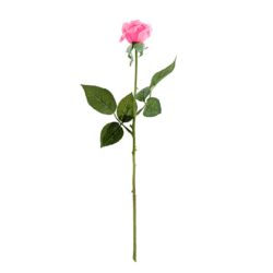 SOGA 10pcs Artificial Silk Flower Fake Rose Bouquet Table Decor Pink
