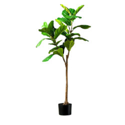 SOGA 120cm Green Artificial Indoor Qin Yerong Tree Fake Plant Simulation Decorative