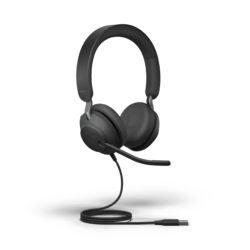 Jabra Evolve2 40 - Black - MS Stereo
