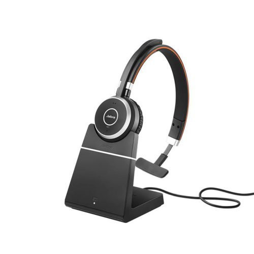 EVOLVE 65 MS Mono + Charging Stand