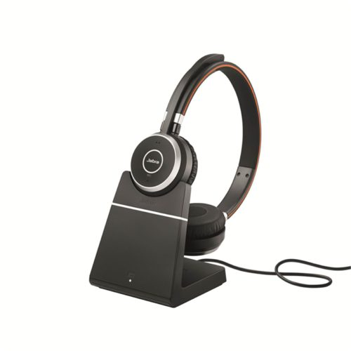 EVOLVE 65 UC Stereo + Charging Stand