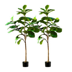 SOGA 2X 155cm Green Artificial Indoor Qin Yerong Tree Fake Plant Simulation Decorative