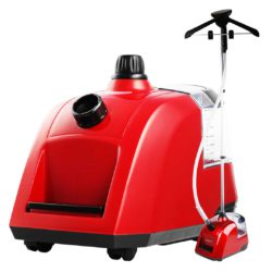 SOGA 80min Professional Commercial Garment Steamer Portable Cleaner Steam Iron Red