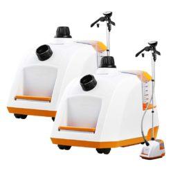 SOGA 2X 80min Professional Commercial Garment Steamer Portable Cleaner Steam Iron White