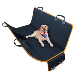 SOGA 600D Oxford Cloth Waterproof Dog Car Cover Back Seat Protector Hammock Pet Mat Black