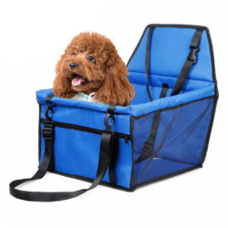 SOGA Waterproof Pet Booster Car Seat Breathable Mesh Safety Travel Portable Dog Carrier Bag