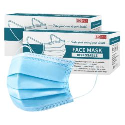 120 Pcs Anti Dust Filter Disposable Protective Sanitary Face Mask