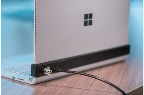 "Locking Bracket for 13.5"" Surface Book with MicroSaver 2.0"