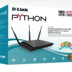 Dual Band Wireless AC1600 VDSL2/ADSL2+ Modem Router