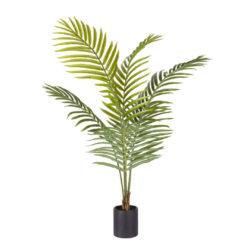 SOGA 120cm Green Artificial Indoor Rogue Areca Palm Tree Fake Tropical Plant Home Office Decor
