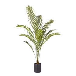SOGA 160cm Green Artificial Indoor Rogue Areca Palm Tree Fake Tropical Plant Home Office Decor