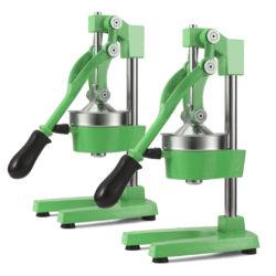 SOGA 2X Commercial Manual Juicer Hand Press Juice Extractor Squeezer Orange Citrus Green