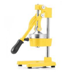 SOGA Commercial Manual Juicer Hand Press Juice Extractor Squeezer Orange Citrus Yellow