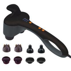 SOGA Portable Handheld Massager Soothing Heat Stimulate Blood Flow Foot Shoulder