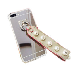 Luxury Fashionable Durable Silver Mirror Back iPhone Case 6s Plus
