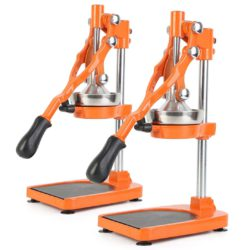 SOGA 2X Commercial Stainless Steel Manual Juicer Hand Press Juice Extractor Squeezer Orange