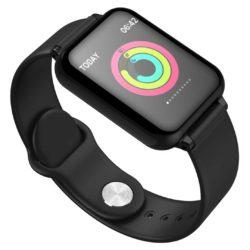 SOGA Waterproof Fitness Smart Wrist Watch Heart Rate Monitor Tracker Black