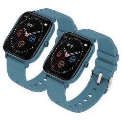 SOGA 2X Waterproof Fitness Smart Wrist Watch Heart Rate Monitor Tracker P8 Blue