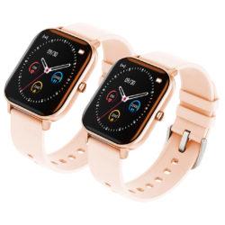 SOGA 2X Waterproof Fitness Smart Wrist Watch Heart Rate Monitor Tracker P8 Gold